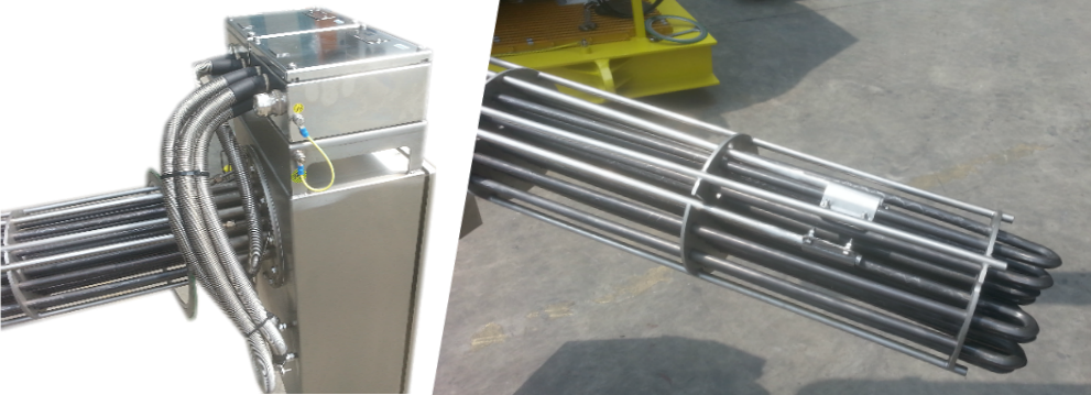 Mowe Flanged Immersion Heaters