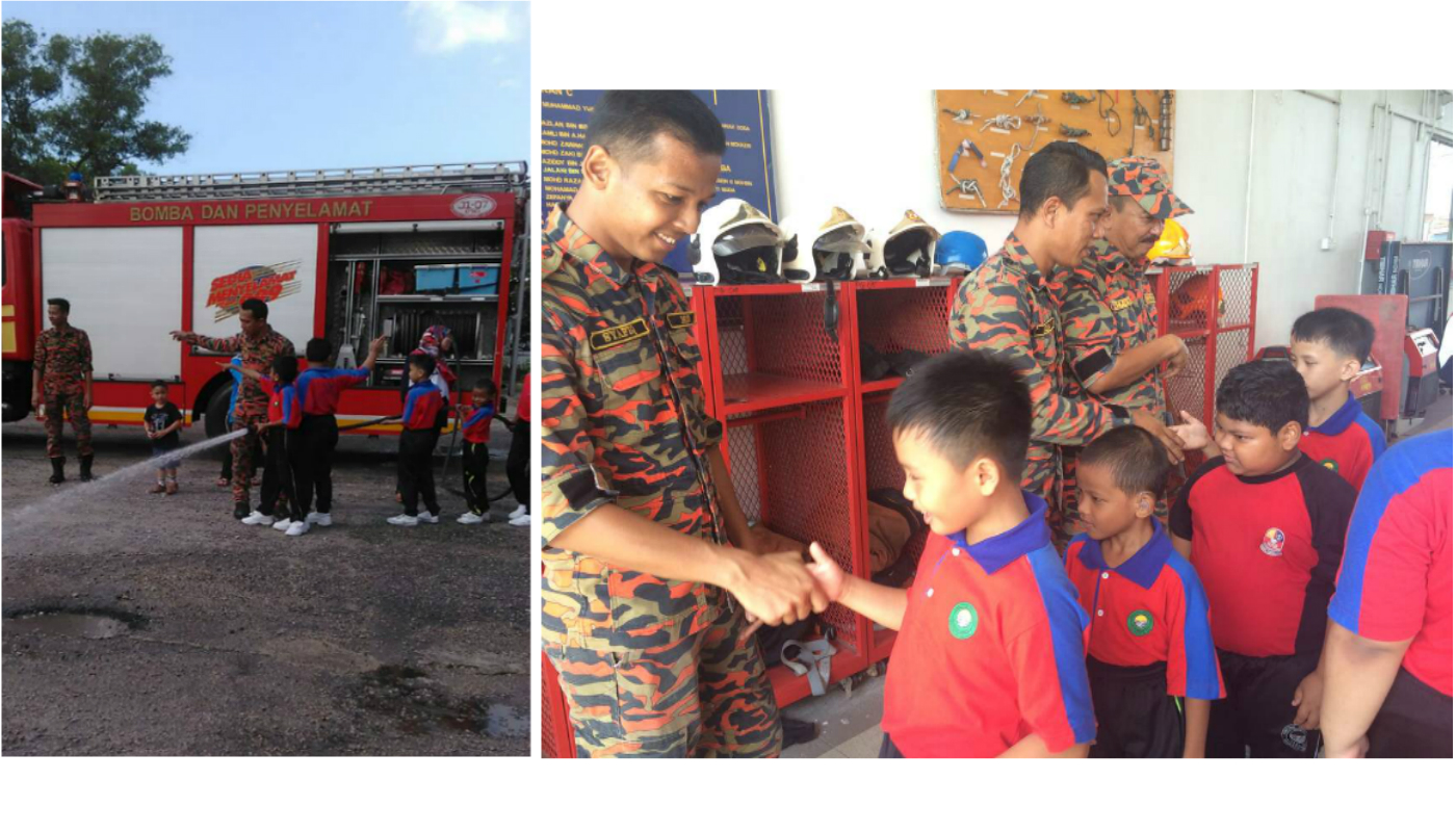 Mowe- PPKI SK Pasir Gurang2 visit to Fire Resue Station21