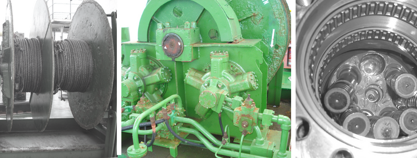 Mowe Hydraulic Winches Crank Services
