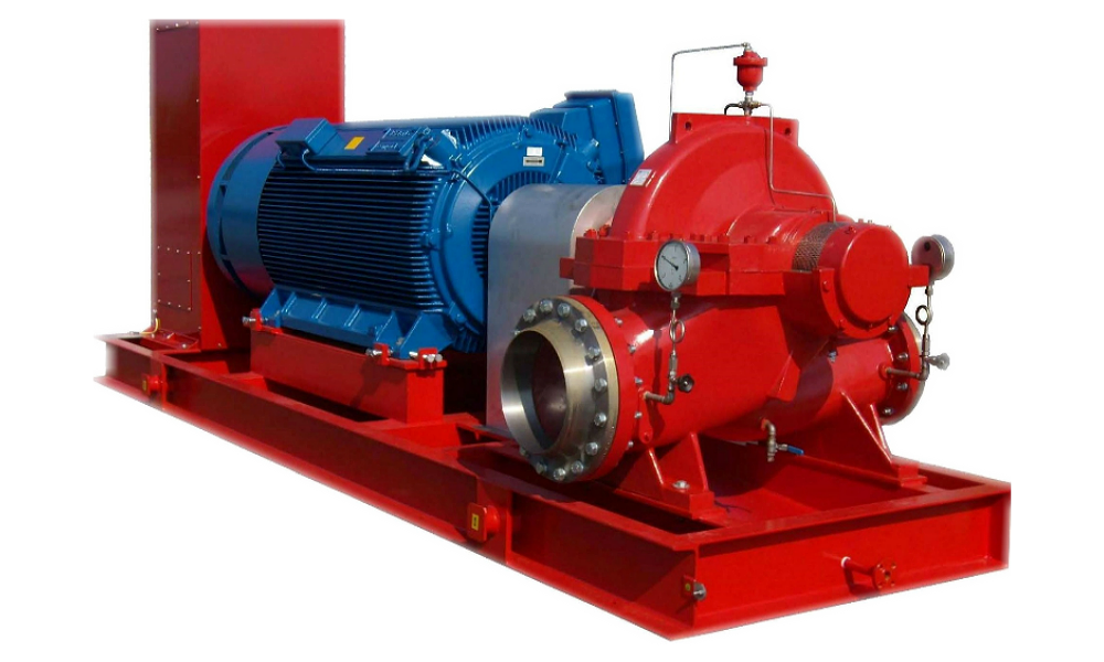 emergency fire pump skid